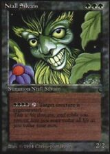 Italian Niall Silvain ~ Near Mint The Dark Foreign UltimateMTG Magic Green Card