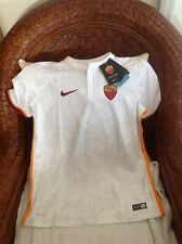 Roma SerieA calcio italy nike new with tag soccer jersey MSRP 75.00 SIZE XL Boys