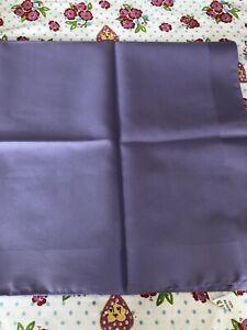 Ladies Italian Lilac Purple Lightweight Classic Chiffon Square Scarf 65cm x 65cm
