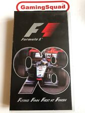 Formula One F1 98 Official Review VHS Video Retro, Supplied by Gaming Squad