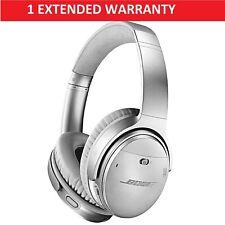 Bose QuietComfort 35 II Wireless Headphones - QC35 II Silver + Extended Warranty