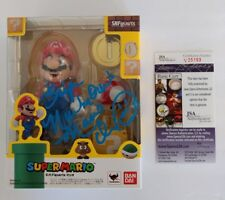 CHARLES MARTINET signed SUPER MARIO Action Figure S.H. Figuarts Bandai JSA