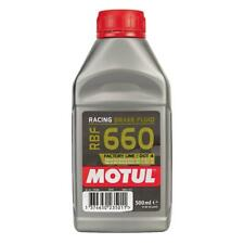 MOTUL 660 Racing Brake Fluid 500ml 100 Synthetic Car Motorbike RBF660