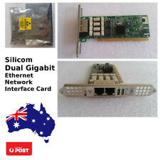 Silicom Dual Gigabit Ethernet NIC (Network Interface Card)