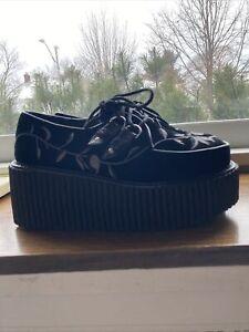 Demonia Platform Shoes Creeper 219 size 8