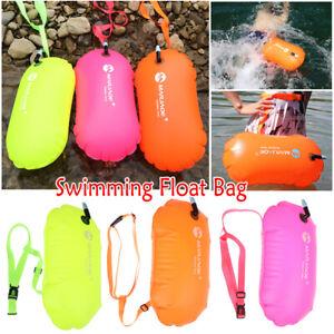 Aufbelasen Schwimmboje Swim Boje Buoy Rettungsboje Für Open Water Schwimmen
