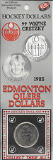 Wayne Gretzky 1983 Oilers Hockey Dollar Collectable Coin
