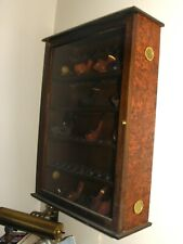 50 Pipe Cabinet Glass Door Hand Made Italy