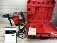 Used Milwaukee 15 Amp 1 34 In Sds Max Corded Combination Hammer With E Clutch