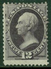 EDW1949SELL : USA 1874 Scott #162 Mint, part OG. Deep color. PSAG Cert Cat