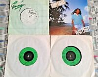 """4 X Eddy Grant 7"""" Singles. 1 Picture Sleeve All Vinyl Excellent"""