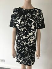 George Black and White Dress Size 12 With Tags Asda