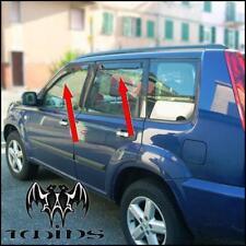 Set 4 Deflettori Antiturbo Oscurati Nissan X Trail XTRAIL X-Trail 2001-2007 T30