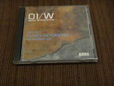 Korg 01/W XSC-803 & XPC-03 Piano/Keyboard Card set  - WORLDWIDE SHIPPING -