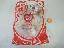 STREAMERS THE BEAR 30th Anniversary McDonald s Happy Meal Beanie Baby  9 88f49a703e6a