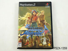 Wild Arms Alter Code: F Playstation 2 Japanese Import JP PS2 Japan US Seller