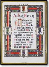 """An Irish Blessing Magnetic Frame 2.25"""" by 3"""" New Sku Fm-222"""
