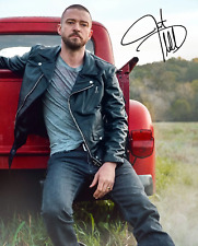 JUSTIN TIMBERLAKE SIGNED AUTOGRAPHED REPRINT 8X10 PHOTO POSTER MAN OF THE WOODS