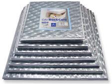 "PME 9"" Square Cake Decorating Sugarcraft Baking Box & Support Card Board"