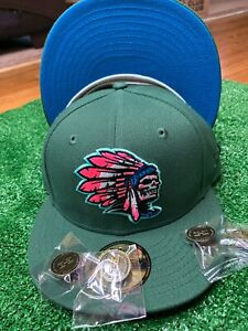 Hat Club Exclusive Skull Chief 5950 Peacock Collection NBL UV With Pin