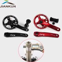 MTB Road Bike 104BCD Crankset 170mm Crank Arm Chainset Bottom Bracket Chianring
