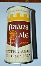 Vintage Friars Ale Flat Top Beer Can Vanity Lid Minty
