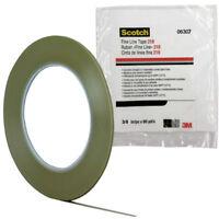 "3M 06307 Scotch Fine Line Tape 218, 3/16"" x 60 yd. 5.0 mL, Green"