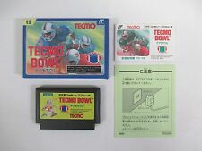 TECMO BOWL -- Boxed. Famicom, NES. Japan game. Work fully. 10804
