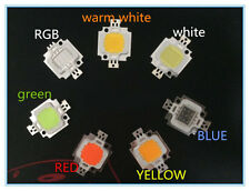 Led chip 10w Blanco,blanco frio,blanco calido,naranja,verde,azul, RGB