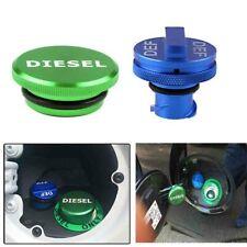 Blue DEF Cap+DIESEL Fuel Cap For 2013-2018 Dodge Ram 2500 3500 Cummins Aluminum