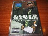 LLOYD BANKS The Hunger for More MADE IN BULGARIA CASSETTE Bulgarian Edition TAPE