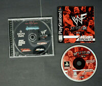 WWF Attitude Sony PlayStation 1 PS1 PSX Game