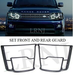 LAND ROVER RANGE ROVER SPORT 2010-13 FRONT & REAR LIGHT GUARDS VEHICLE FULL SET