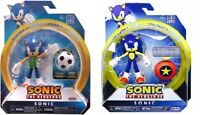 Sonic The Hedgehog 4-inch Soccer & Star Spring Action Figures Collectible Toys