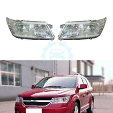 For Dodge JCUV 2009-2015 Front Composite Headlight Set OE 5067789AC,5067788AC