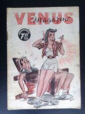 TRES Rare ancienne revue Venus magazine illustré par Albert Dubout ETAT CORRECT