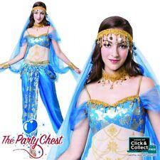 LADIES HAREM DANCER COSTUME Exotic Bollywood Arabian Fancy Dress Outfit AF072