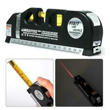 Multipurpose Laser Level Vertical Horizon Measuring Ruler Tape New Aligner U2U2