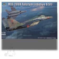 TRUMPETER 1/72 RUSSIAN MIG-29UB FULCRUM KIT 03226