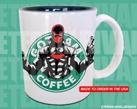 Red Hood Jason Todd Starbucks Anime Manga Cartoon Geek Nerd Mug