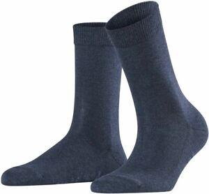 Falke Womens Family Socks - Navy Blue