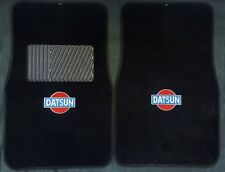 1979-1983 Datsun  logo datsun z Carpet Floor Mats carpet  2pc