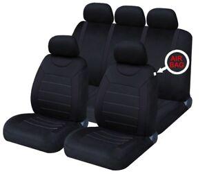 Universal Carnaby Black Seat Covers Chevrolet Silverado 2500 Crew CAB 2003-2016