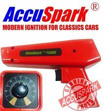 AccuSpark P8000 RED timing light with analogue advance control