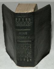 King Henry V, William Shakepeare, Miniature Edition, c1930. Allied
