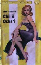 """Chi è Ocks?  COOPER  I Gialli dello """"Schedario""""  197"""