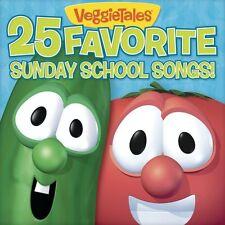 VeggieTales - 25 Favorite Sunday School Songs [New CD]