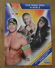 TOPPS la WWE dalla A alla Z * ALBUM VUOTO album World Wrestling Entertainment *