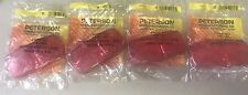 Peterson Double Bulls-Eye Clearance Marker Replacment Lens  138-15r LOT OF 4