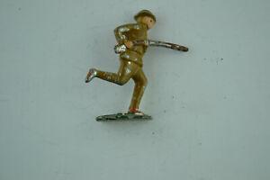 Lead Toy Soldier Figure Vintage Handpainted Figurine Statue 713-715
